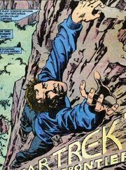Rock climbing DC Comics