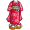 Female Kimono Costume-icon
