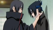Young Sasuke vs Itachi