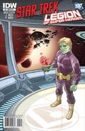 Star Trek - Legion of Super-Heroes issue 1 cover RIA1