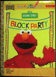 Block party 1996 coloring book