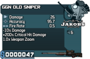 GGN Old Sniper