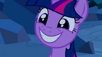 Twilight smiling S2E26