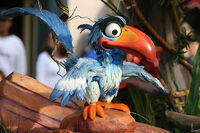 Zazu Disneyland Parade