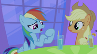 Rainbow Dash talking S2E25