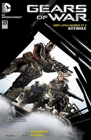 Cover for Gears of War #23