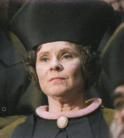 Umbridge en el juicio de Harry