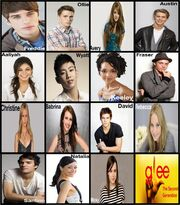 Glee gen 2 cast