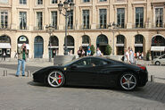 Ferrari Italia in Place Vendome, Paris