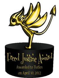 Freed Justine Award 1