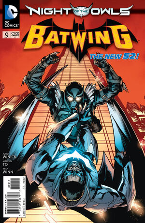 Cover for Batwing #9