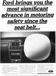 Ford airbag advertisement (1993.11)