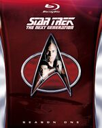 TNG Season 1 Blu-ray cover