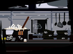 Shadow Ramen background