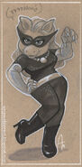 Amy Mebberson catwoman piggy
