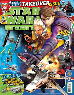 Star Wars Clone Wars Comic UK 6.33