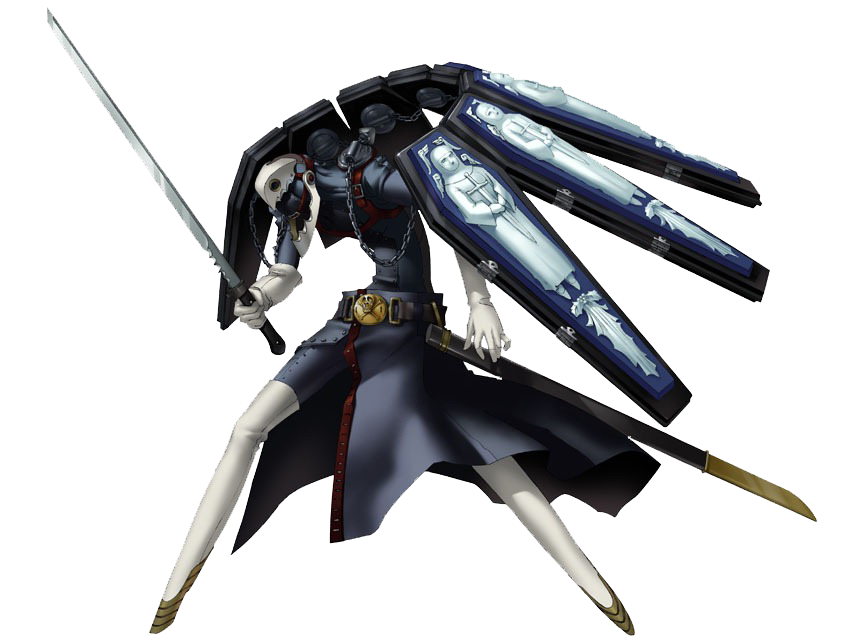 Thanatos - Megami Tensei Wiki  a Demonic Compendium of your True SelfPersona 3 Thanatos Figure
