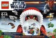 Lego star wars 2012 calendar