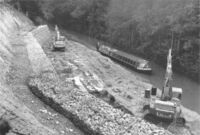HY-MAC'S WORKING ON THE BASINGSTOKE CANAL ERA 1970'84.
