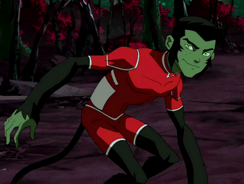 Beast Boy PNGYoung Justice Beast Boy Transformations