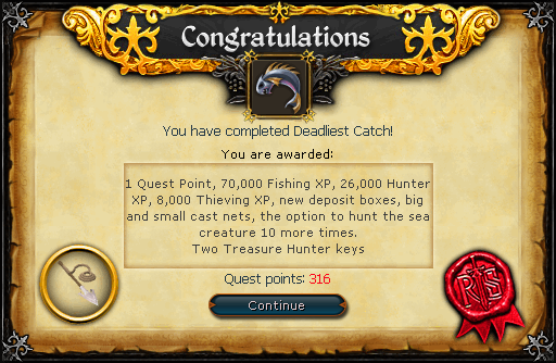Deadliest Catch reward