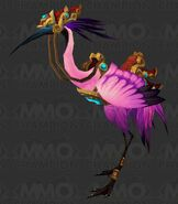 Crane mount pink