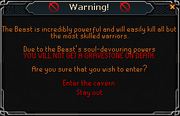 Corp Warning