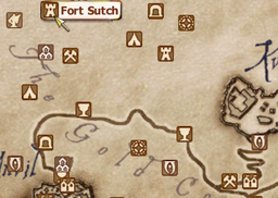 Fort Sutch Map