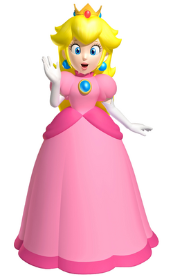 Peach Artwork - Super Mario 3D Land