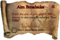 Scroll AimBroadsides