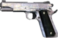 M1911 Nickel 3rd person CoD4