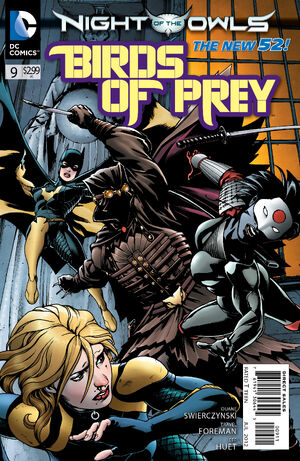 Cover for Birds of Prey #9