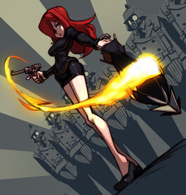 Parasoul skullgirls