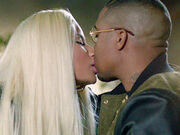 Nas And Nicki Kiss