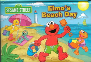 Elmo's beach day