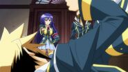Medaka and Akune find Zenkichi and Kikaijima in a compromising position