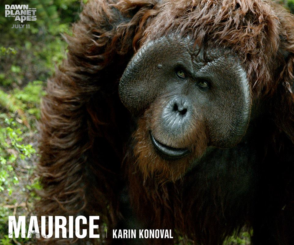 Maurice - Planet of the Apes: The Sacred Scrolls