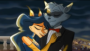 Sly &amp; Carmelita&#39;s date Sly 4