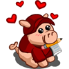 Swooning Pig-icon