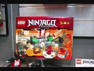 Lego Ninjago playsets and spinner toy fair 2011