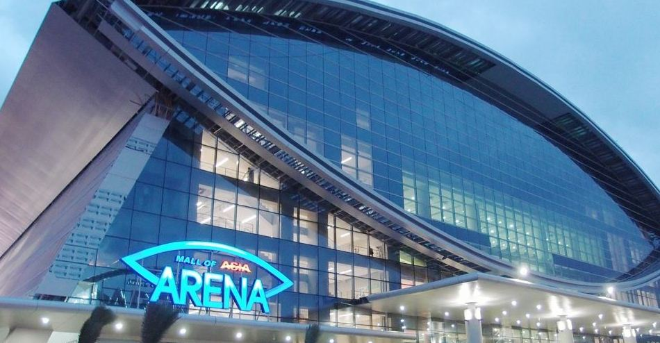as sm arena or moa arena is an arena located in pasay philippines