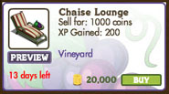 Chaise Lounge Market Info (July 2011)
