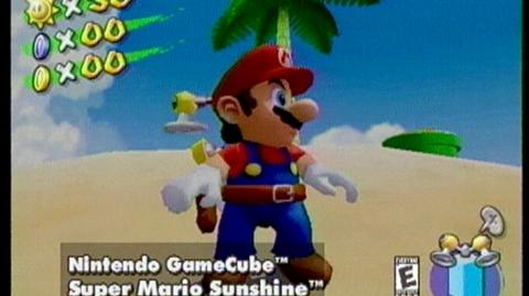 Super Mario Sunshine (2002) - Open-ended Trailer