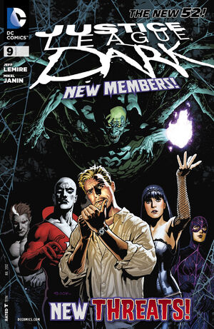 Cover for Justice League Dark #9