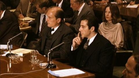 The Godfather Part II (1974) - Clip Senate hearings on the mob