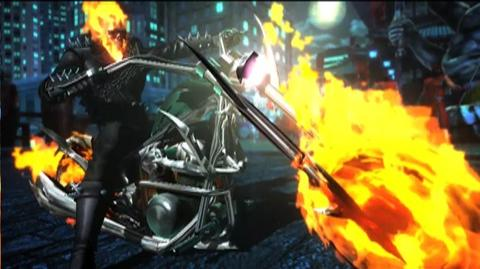 Ultimate Marvel vs. Capcom 3 (VG) () - Ghost Rider Character Vignette
