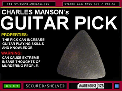 Charles Manson&#39;s Guitar Pick