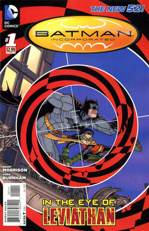Cover for Batman Incorporated #1 (2012)