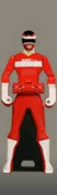 MegaRed Ranger Key