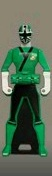 Shinken Green Ranger Key